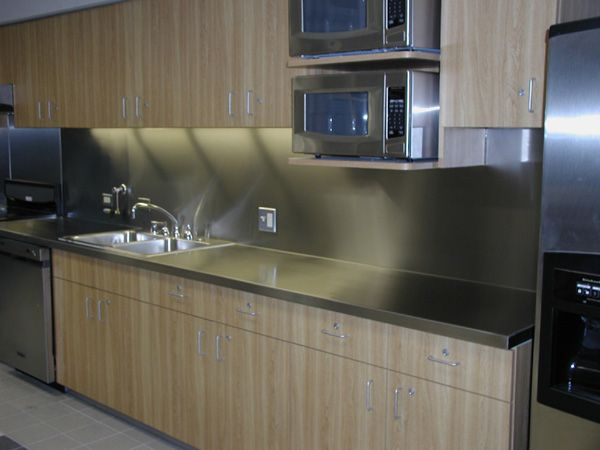 stainless steel countertops - Google Search House Pinterest ...