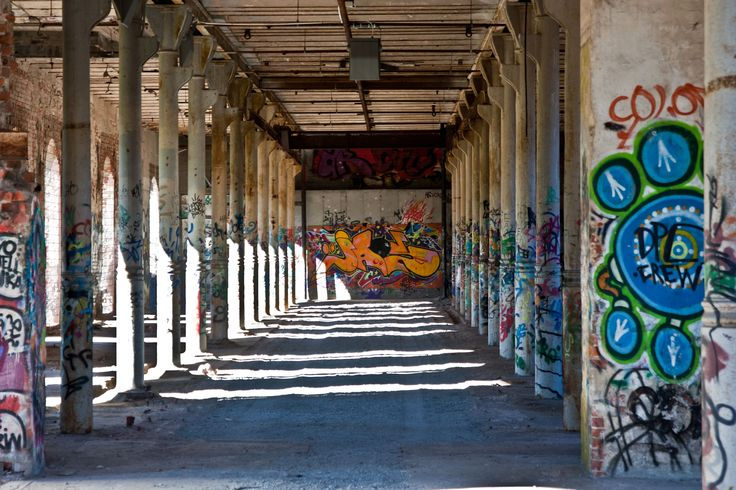 Graffiti hall. Photo By. Knut Erik Blom