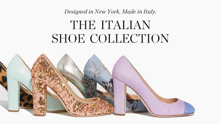 of course the italian shoe collection @J.Crew inspires me :: #jcrew #myshoestory