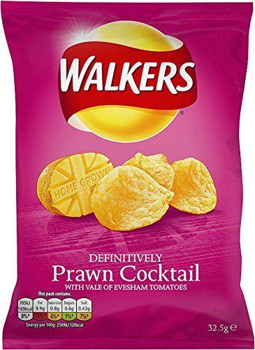 48 X WALKERS CRISPS PRAWN COCKTAIL 32.5g   48 PACK BUNDLE: Amazon.co.uk: Grocery