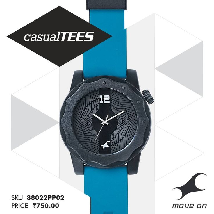 Beat those blues. #CasualTEES http://fastrack.in/casualtees/ —