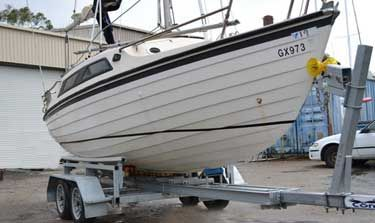 At Condor Trailers, in Victoria, we design and build custom boat trailers to your specifications.