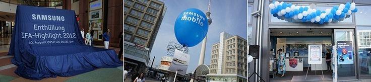 갤럭시 노트2, 갤럭시 카메라, 아티브 언팩하던 날의 독일 베를린 풍경 - 스마트디바이스(Smart Device)