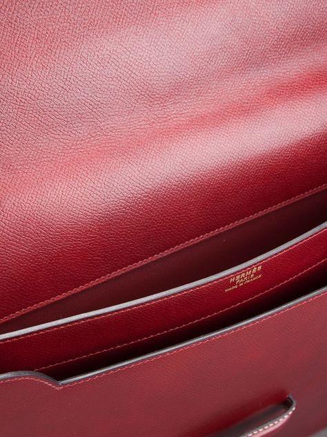 Hermès Vintage 'Marco Polo Club' clutch