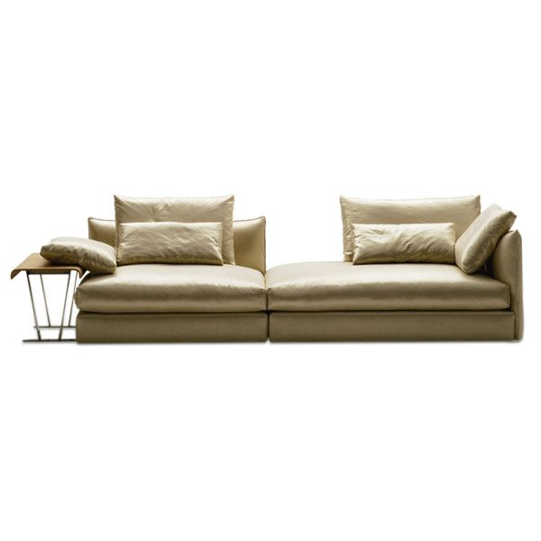 Era contemporary sofa liked on polyvore featuring home