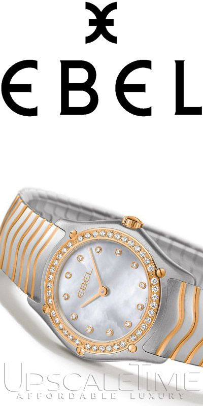 Check out our selection of Ebel watches at Upscale Time!