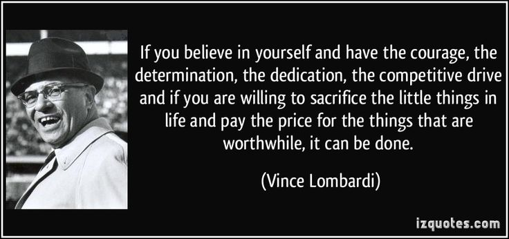 Vince Lombardi Quotes Enchanting 17 Best Lombardi Quotes Images On Pinterest  Gymnastics Quotes