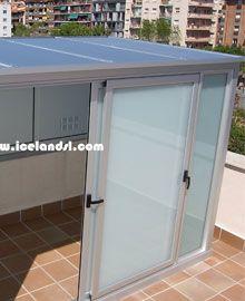 Armarios de aluminio · Cristalería y Aluminio ICELAND, S.L. Granollers