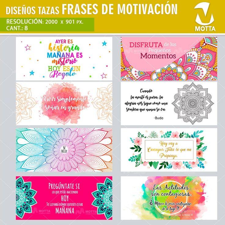 MENSAJES MOTIVAR PARA SUBLIMACIÓN DE TAZAS #SUBLIMATION #mottaplantillas
