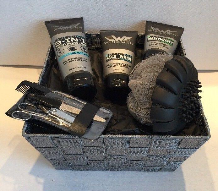 Mens Christmas Gift Ideas: Gift Basket Hamper For Him Mens Gift Idea Dad Son Husband