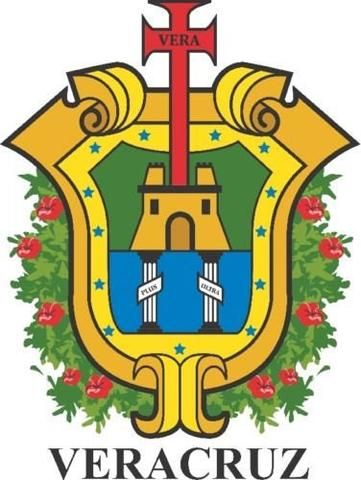 Veracruz Mexico. Coat Of Arms Decal Sticker Full Color/Weather Proof.
