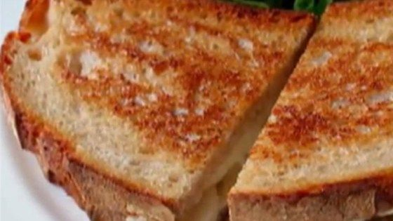 Chef John's grilled Brie and pear sandwich is an fresh and delicious twist on traditional grilled cheese.