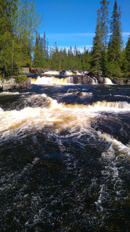 Waterfall,Idre,Sweden