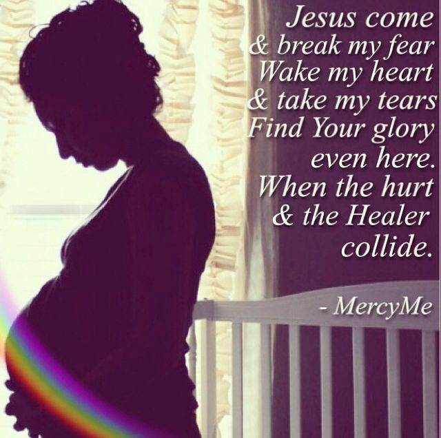 Rainbow after the storm, pregnancy after miscarriage, MercyMe, hold on to HOPE!!!