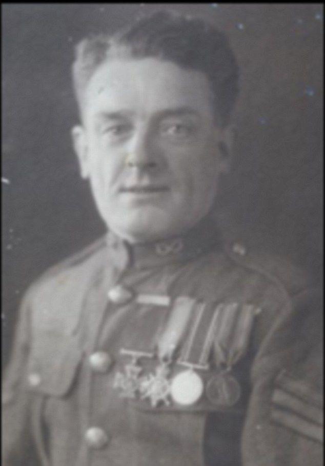 Lance Corporal John Thomas, who was awarded the Victoria ...