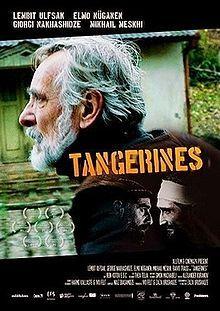 Tangerines. Estonia, Georgia. Lembit Ulfsak, Elmo Nuganen, Mikheil Meskhi, Giorgi Nakashidze. Directed by Zaza Urushadze. 2013
