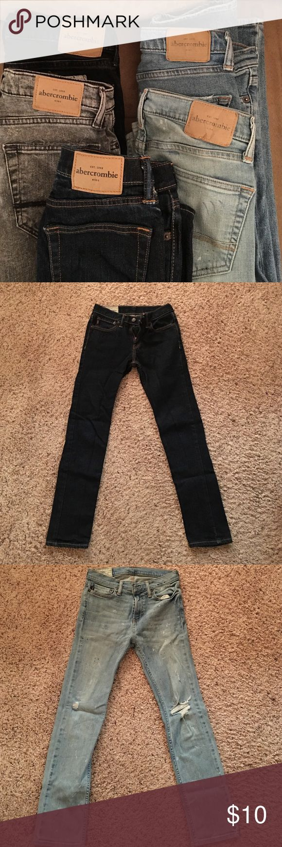 Abercrombie kid jeans Boys size 14 abercrombie kids Bottoms Jeans