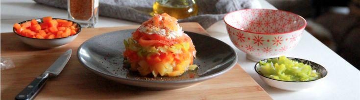 Tartare de saumon fumé et légumes croquants, Retrouvez des recettes gourmandes et légères avec Daylice de Bridélice : trouvez l'inspiration pour vous simplifier le quotidien !