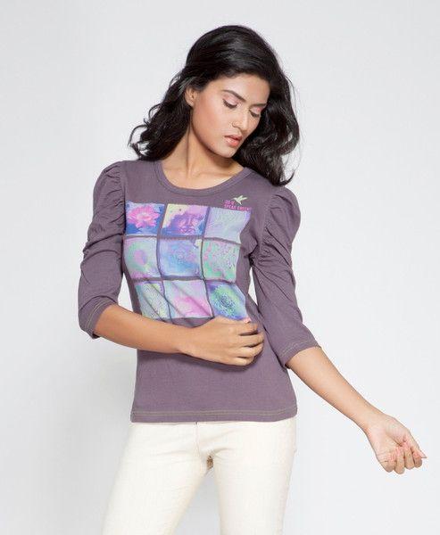 DUSG Spritual Mantra Womens Organic T-Shirt