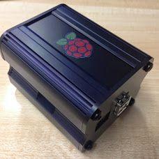 Raspberry Pi Black Aluminium Case