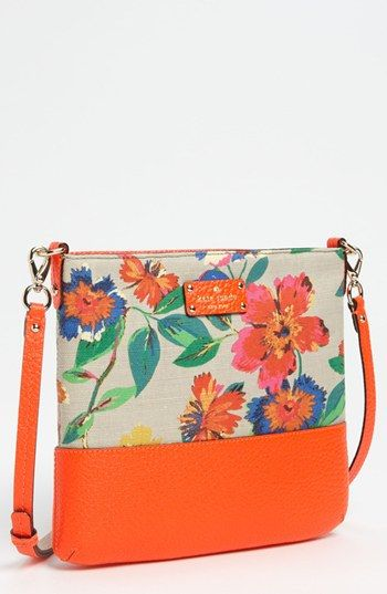 kate spade new york grove court - floral crossbody bag available at Nordstrom