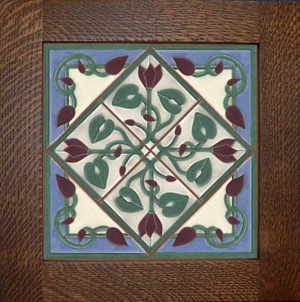 Craftsman Series Tile | Craftsman Tiles by Feature Tile - Craftsman Murals