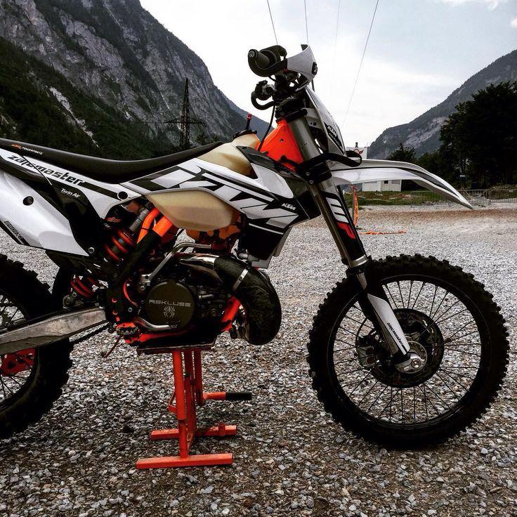Ktm 300 EXC 2t 2015 WHITE-BLACK