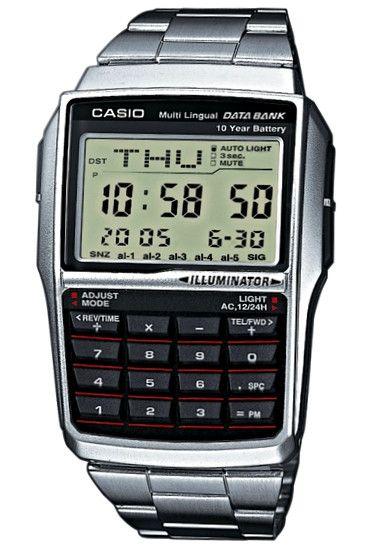 CASIO Mod. DB-32D-1A DATABANK CALCULATOR