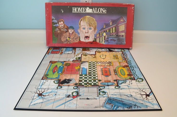 There Were Also Not One But Two Home Alone 2 Board Games That S A Lot But It Still Doesn T Make Up For Kevin S Lost Christmases