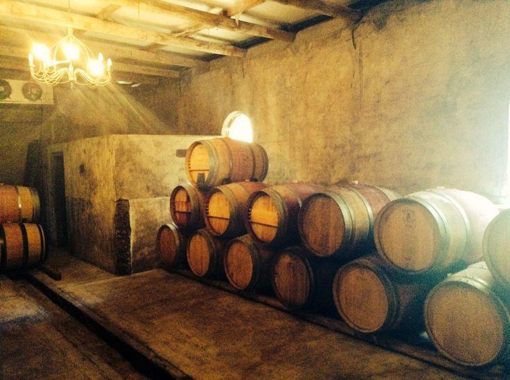 Our beautiful rustic Malabar cellar in Malmesbury