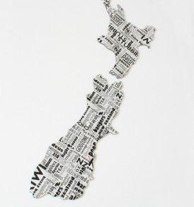Newspaper ACM NZ Wall Art