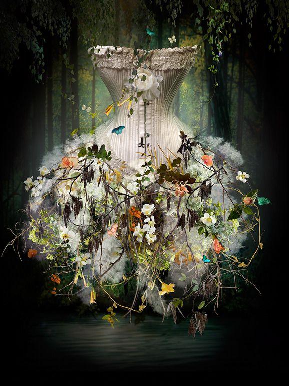 "Saatchi Online Artist: Ysabel LeMay; Photomanipulation, 2012, Digital ""NATURA"""