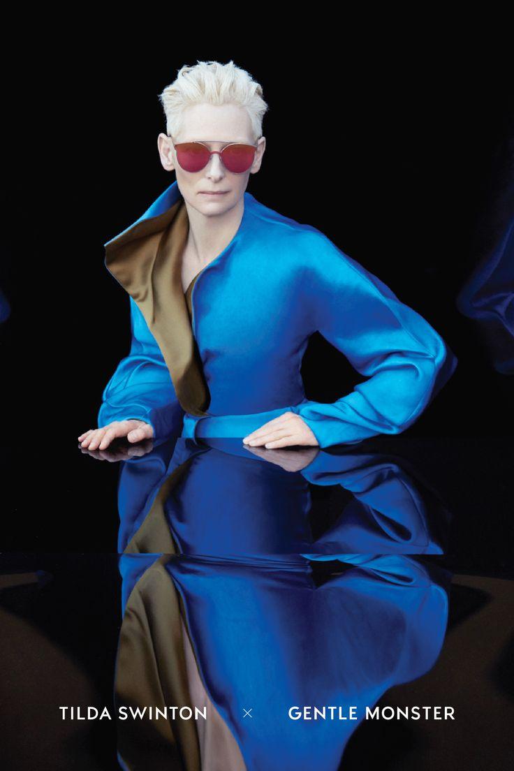 Tilda Swinton Stars in New Gentle Monster Sunglasses Campaign | V Magazine