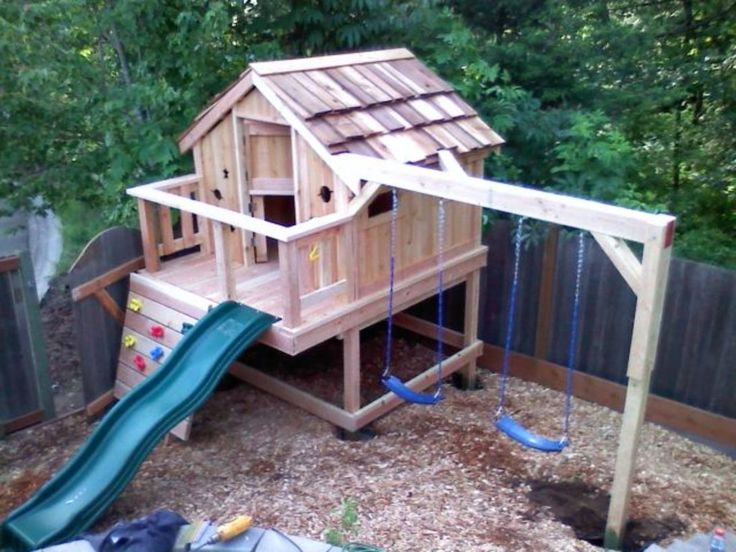 41 Modern and Minimalist Luxury Outdoor Playhouse Ideas – Michelle Curb