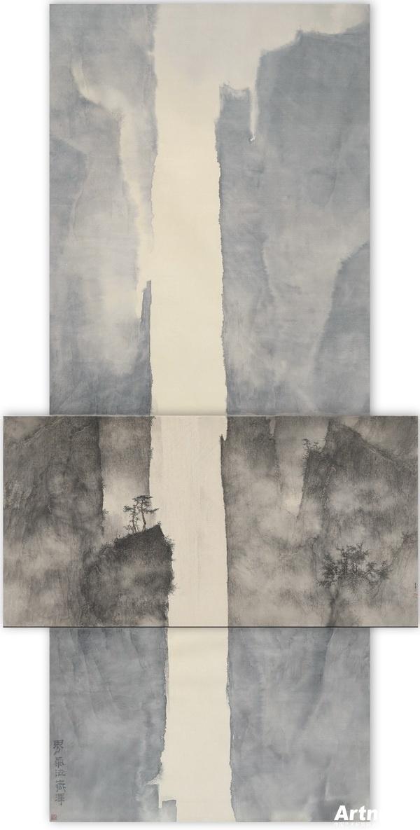 旅美艺术家李華弌的山水世界(4)||中国艺术新闻网
