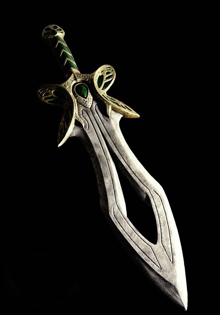 #Dota 2 Butterfly #sword Replica 1:1 Battle-Scarred