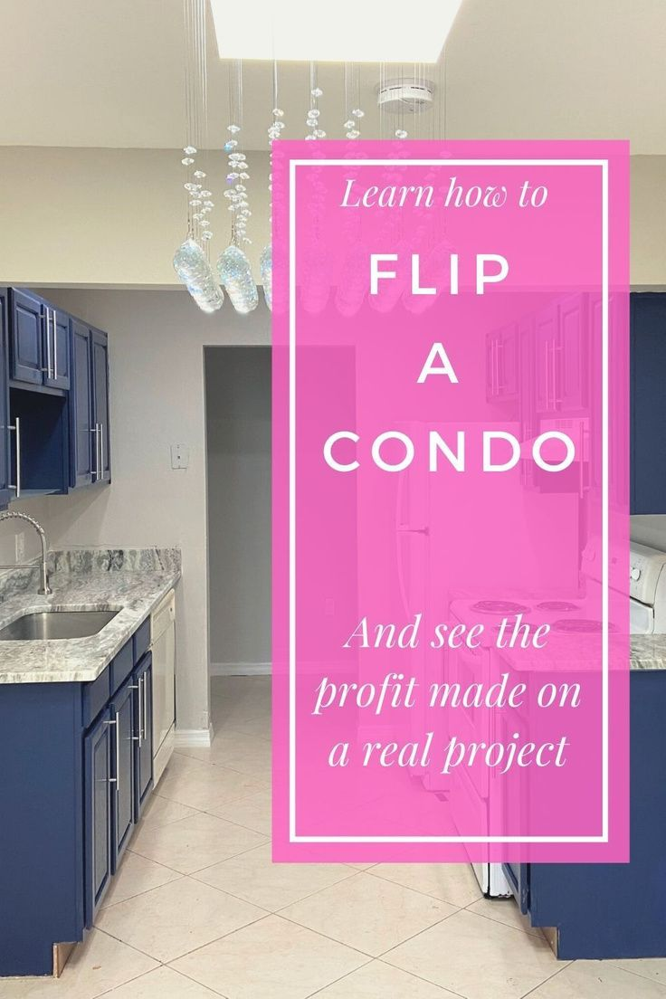30 day Condo Flipping Project [with profit report