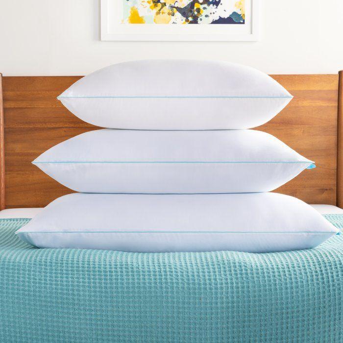 Medium Gel Memory Foam And Memory Foam Cooling Bed Pillow Bed