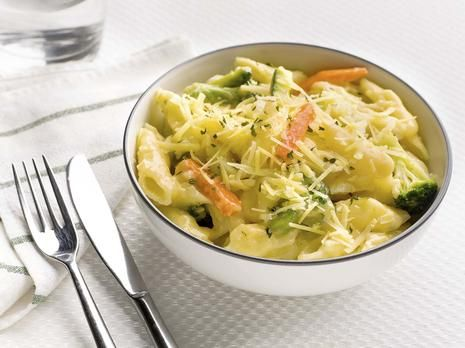 Gluten Free Garden Vegetable Pasta Bake