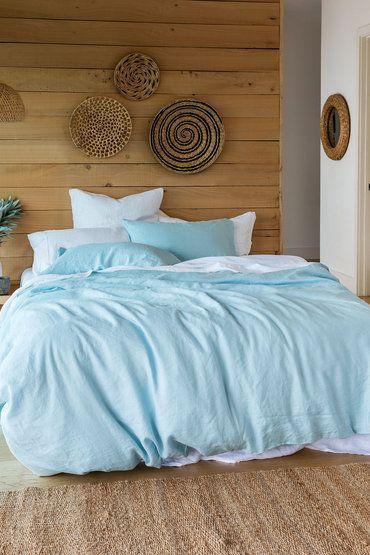 Hampton Linen Duvet Cover Set Online | Shop EziBuy