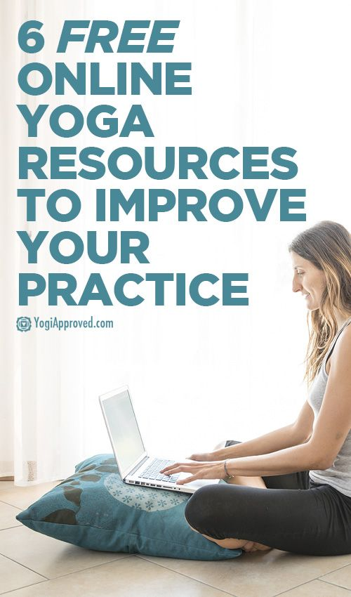 6 Free Online Yoga Resources To Help Improve Your Practice