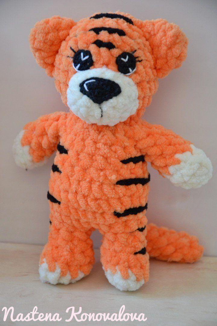 PDF Milakh's Tiger Cub. Free crochet amigurumi pattern. A free ... | 1080x720