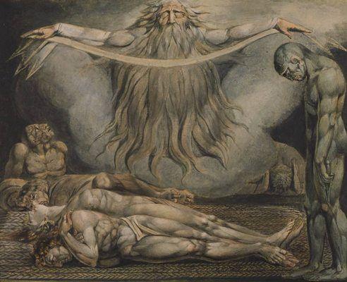 La maison des morts, par William Blake