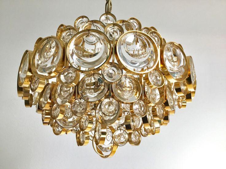 Ein persönlicher Favorit aus meinem Etsy-Shop https://www.etsy.com/de/listing/502542274/palwa-vergoldeter-kronleuchter-kristall
