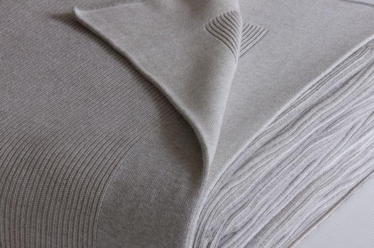 Bemboka Cotton Blanket – Rib Plain
