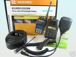 radio komunikasi 2 arah (HT & RIG)