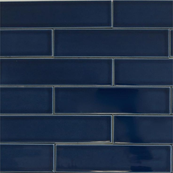 blue ceramic subway tile ceramic subway tile for kitchen backsplash or bathroom 4803