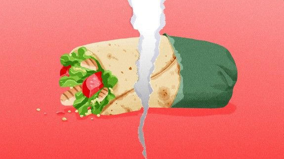 Why wraps are the lowest form of human lunch
