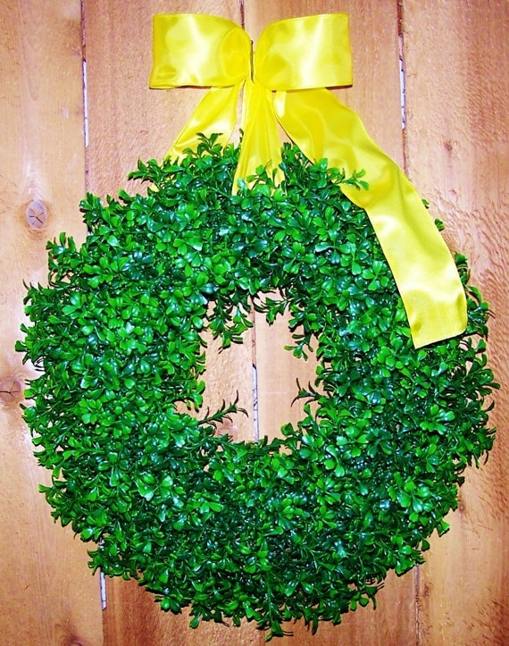 18 Spring/Summer WreathSpring Door by DesigningCreations on Etsy, $69.00