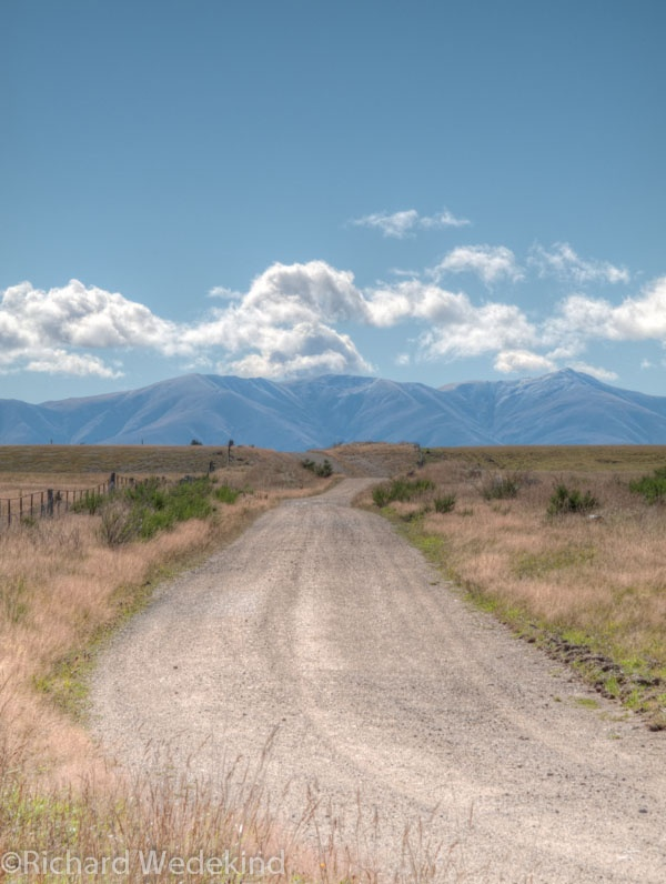 Central Otago from the Rail Trail.